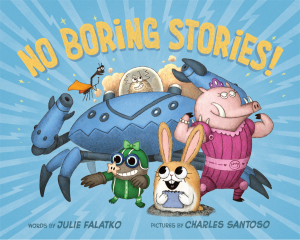 Book Cover: No Boring Stories